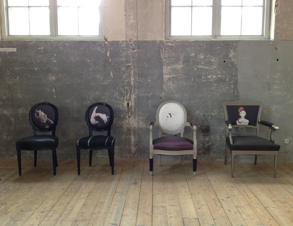 the Drawing Room Chair utställning sliperiet