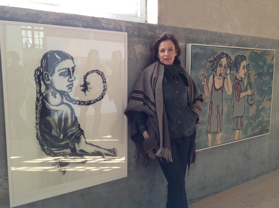 Amanda Ooms på Sliperiet